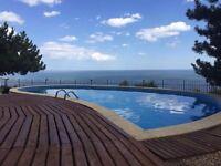 holiday;lovely villa;privat pool and jakuzzi;amazing sea veiw;Varna,Bulgaria