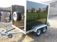 Karting Trailer Tickners GT 7' x 5' x 5' Box Trailer in Black