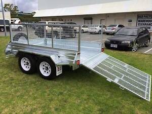 SALE! TRADIES SPECIAL GALVANIZED TANDEM BRAKED 8x5 RAMP TRAILER Wetherill Park Fairfield Area Preview