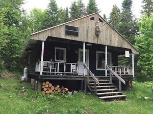 Hunting & Fishing Log Cottage in Kedgwick, Saint-Quentin Area!!