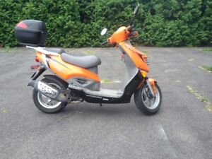 scooter hyosung sf 50 2009