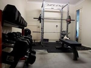 Use+New Gym Equipment Bench Dumbbell Weight Rack + MORE!!