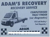 Vehicle Recovery Breakdown Local and National Car from £35 and Van 24 Hr Lowered cars.Luton bodies