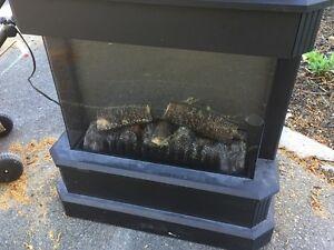 Electric Fireplace + Heat