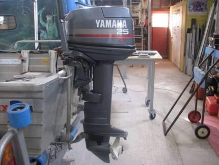 YAMAHA 25 hp Long Shaft Outboard Motor Sunshine Coast