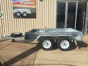 8x5 Tandem Axle Box Trailer - Galvanised Para Hills West Salisbury Area Preview