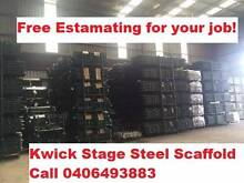 Kwick Stage Steel Scaffold complete set Revesby Bankstown Area Preview