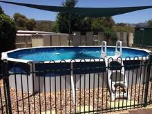 Above ground pool with deep end Modbury Heights Tea Tree Gully Area Preview
