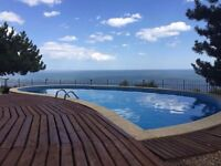 holiday;lovely villa;privat pool and jakuzzi;amazing sea view;Albena,Bulgaria