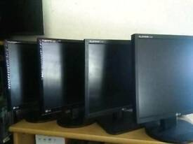 "Various Refurbished 19"" PC Monitors £15 each with 6 Months Warranty"