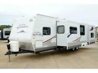 2009 JAYCO JAY FLIGHT 31BHDS 2 BED 2 SLIDE American Caravan RV 5th Wheel Trailer