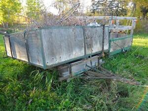 Dump and Utility Trailer