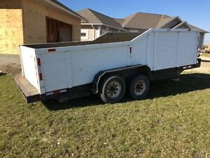 Large 22 foot utility trailer /for bobcat , hauling , roofing...