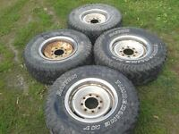 8 bolt chevrolet wheels and tires