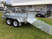 NEW YEAR SALE! LICENSED GALVANIZED TANDEM BRAKED 8x5 RAMP TRAILER Wetherill Park Fairfield Area Preview