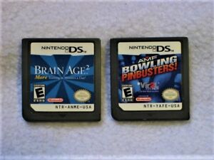 Brain Age 2 & AMF Bowling - DS