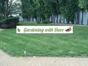 yard clean-up, lawn mowing, flowerbed and weed control and more