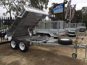 8x5 GALVANISED 2T Hydraulic Tipper Trailer  FREE REGO!!!!!! Para Hills West Salisbury Area Preview