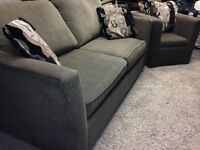 Stylus Sofa Bed & Chair SET  -  ( DELIVERY )