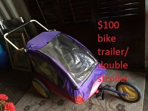 bike trailer / double stoller