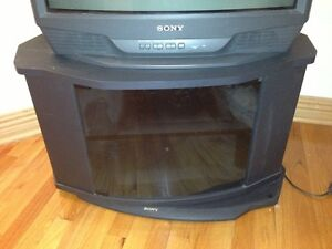 SONY TV STAND WITH GLASS DOOR - excellent condition
