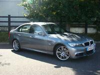 2009 (59) BMW 320d M SPORT 4 DOOR SALOON WARRANTIED LOW MILEAGE 42500 MILES FSH