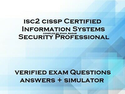 ISC2 CISSP verified practice exam questions answers and simulator