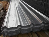 GALVANISED BOX PROFILE ROOF SHEETS > NEW
