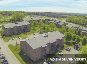 Logement 4½ en bordure de l'Université de Sherbrooke!