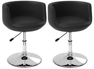 BNIB - CORLIVING LAB-909-C Abrosia Lounge / Accent Chairs - Pair
