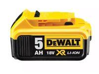 Dewalt 18v Xr batterys