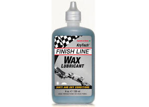 FINISH-LINE-KRYTECH-WAX-CYCLE-BIKE-CHAIN-LUBE-LUBRICANT-4oz-120ml-BOTTLE