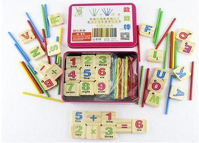Montessori Mathematical Intelligence Stick Preschool Educational Toys