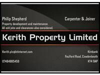 Property maintenance and repairs
