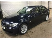 BMW 3 SERIES 2.0 318I SE 4d AUTO 128 BHP LEATHER TRIM, PARKING SENSORS VERY LOW GENUINE MILEAGE