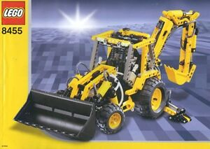 Lego-Technic-Construction-8455-Back-Hoe-Loader-NEW-Sealed