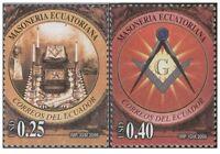 Ecuador Masoneria Ecuatoriana 2v. Mint Mnh Massoneria Masonic Freemasonry -  - ebay.it