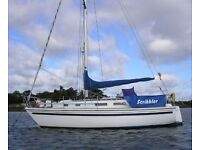 WESTERLY GRIFFON FIN KEEL CRUISING YACHT £7950 REDUCED VERY GOOD VALUE PACKAGE