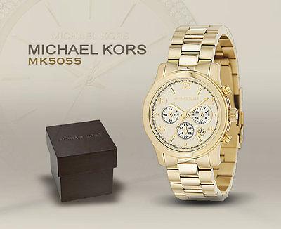 Michael Kors Damenuhr Chronograph MK5055 Original mit komplettem Zubehör