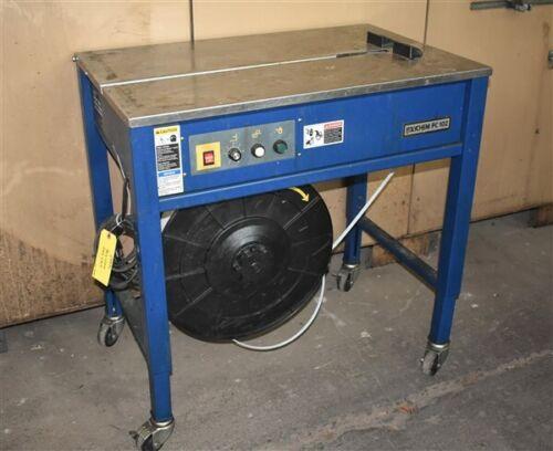 PC102 POLYCHEM SEMI-AUTOMATIC POWER STRAPPING MACHINE - #28934