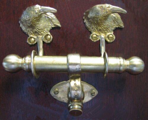 RAVEN or CROW Bronze DUET Door Knocker