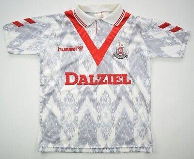 Hummel 1992-93 AIRDRIEONIANS SHIRT S Shirt Jersey Kit image