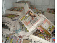 WANTED: Any newspapers