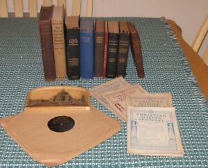 Vintage Collection Christian Science Books and collectibles