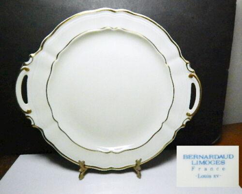 Bernardaud LOUIS XV Handled Cake Plate, MINT !!