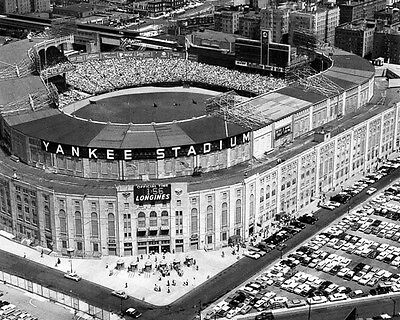 1961 New York YANKEES STADIUM Glossy 8x10 Photo Vintage Aerial Print Poster