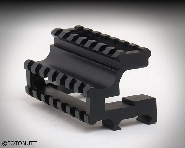 Paintball for Tippmann or any weapon Dual Universal Offset Mount Weaver Sight x