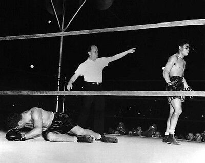8x10 B/&W photo James Braddock vs Max Baer