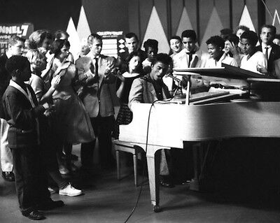 American Blues Singer LITTLE RICHARD Glossy 8x10 Photo Music Print Piano Poster