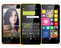 nokia lumia 635 like new $99 with rogers,chatr,fido+all accesso